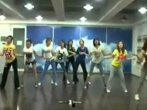 SNSD Genie Practice Version Mirrored [Fixed Audio]