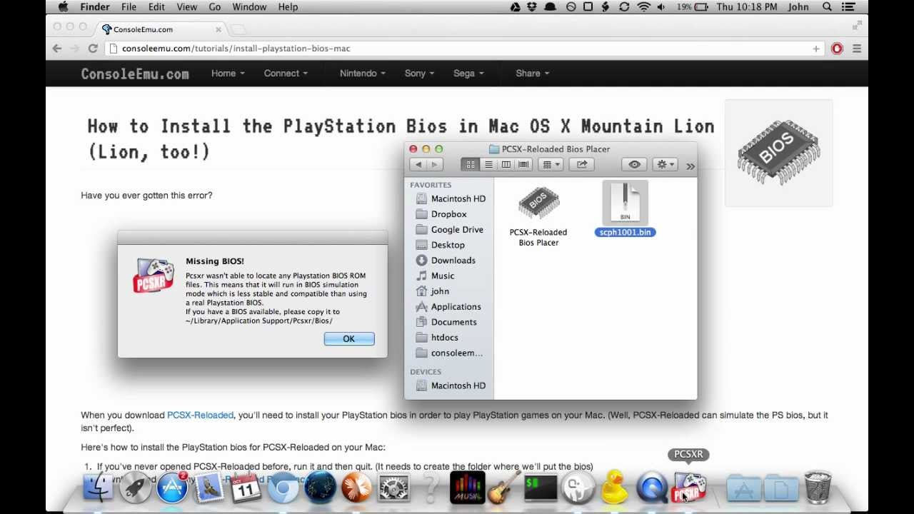 Playstation Emulator Mac Mountain Lion