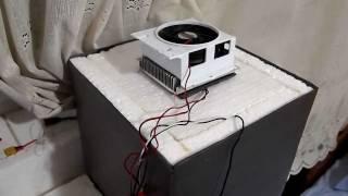 Evde buzdolabı yapımı - Peltier Soğutucu