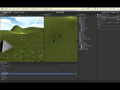 Unity Sprite Manager - Create Sprite Sheet + Sprite Manager Animation