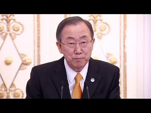 Ban Ki-Moon reúne com Vladimir Putin