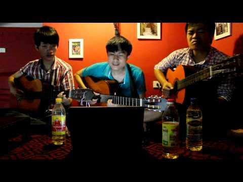 [HKT] Giá như chưa từng quen - Guitar cover by Dầu Ăn Band =))
