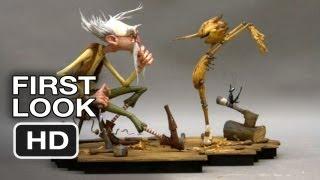First Look Pinnochio (2014) Guillermo Del Toro Movie HD