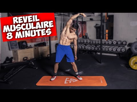 Réveil musculaire en 8 minutes ! (Circuit sans matériel)
