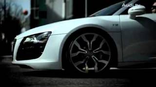 Реклама Audi R8 V10 Spyder