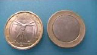 Come Riconoscere La Moneta Da 1 Euro Falsa(how To Know A