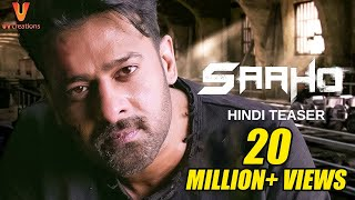 Saaho Hindi Teaser