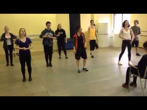 What happens when Tap Dancers sing Happy Birthday