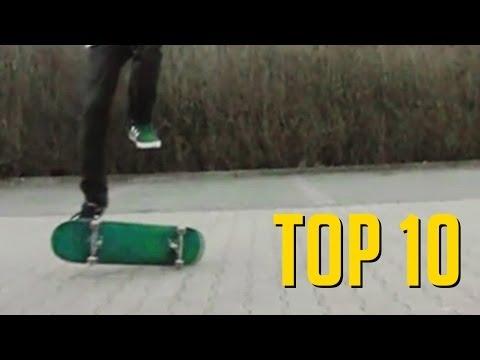 TOP 10 MANOBRAS BIZARRAS DE SKATE