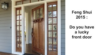 Flying Star Feng Shui 2015 Will Your Front Door Be Lucky
