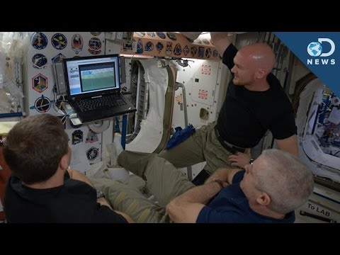 How Do Astronauts Watch The World Cup In Space?