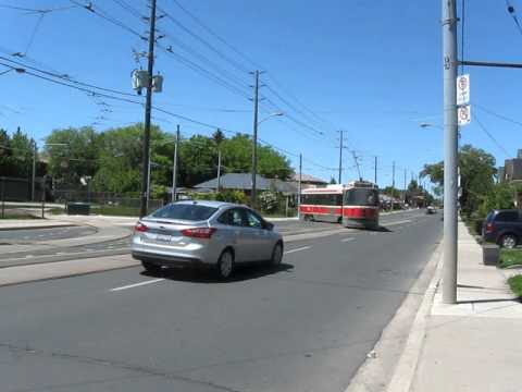 TTC - UTDC/Can-Car Rail ALRV #4245 entering Kipling loop