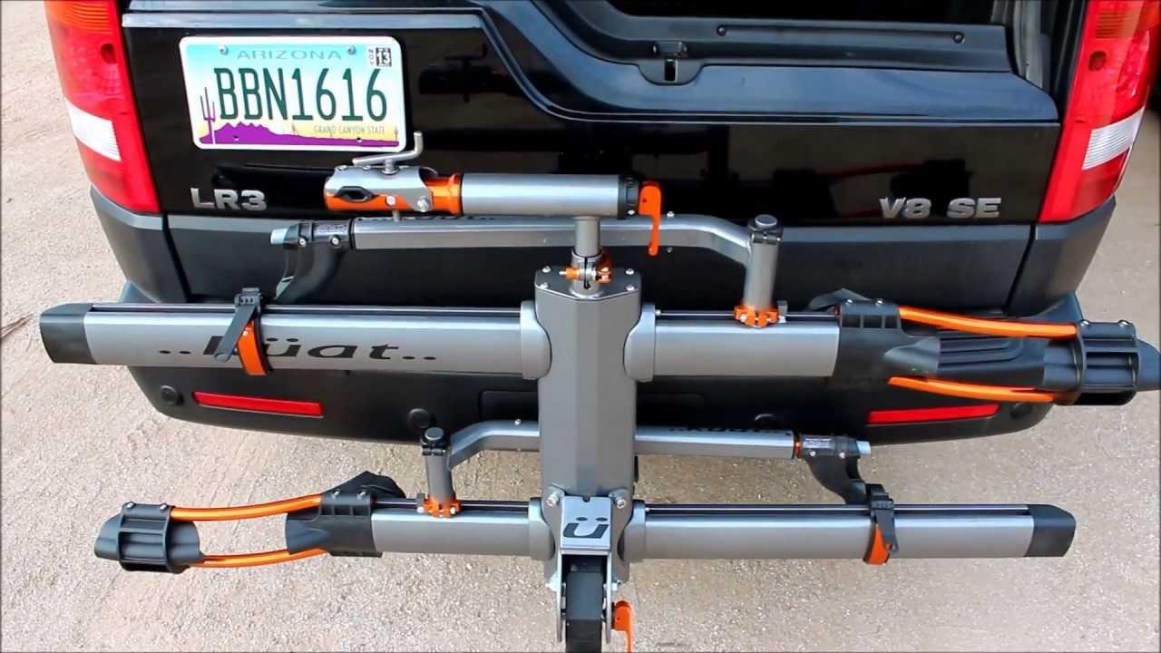 Kuat NV Bike Rack on an LR3 Land Rover AKA Discovery 3 ...