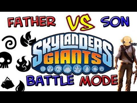 Skylanders Giants: Battle Mode - Part 13 (Ring Out)