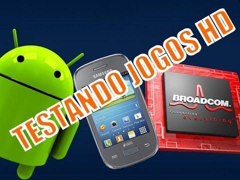 Testando Jogos HD Galaxy Pocket Neo com BroadcomBooster v0.3