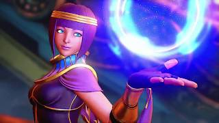 Street Fighter V - Menat Reveal Trailer