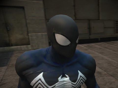 THE AMAZING SPIDER-MAN 2 VIDEOGAME - SYMBIOTE SPIDER-MAN COSTUME SHOWCASE