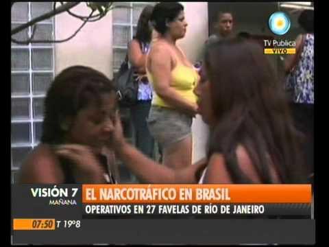 Visión Siete: Guerra narco en Brasil
