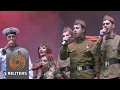 Banned from Eurovision, Russian entry performs in Crimea