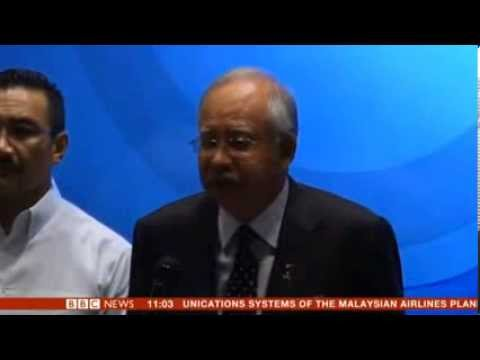 Malaysia Prime Minister believes the missing plane was deliberately affected many fear hijack