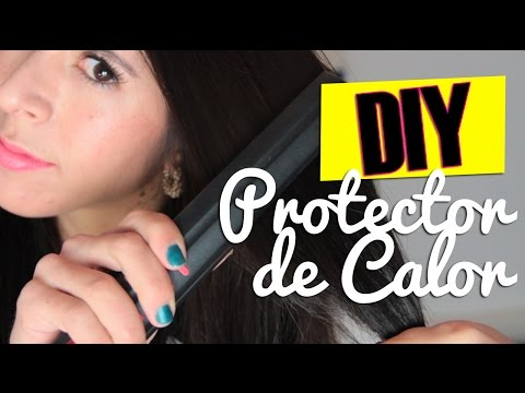 Como hacer Protector de Calor Casero! FUNCIONA 100% - DIY Heat Protectant por Lau