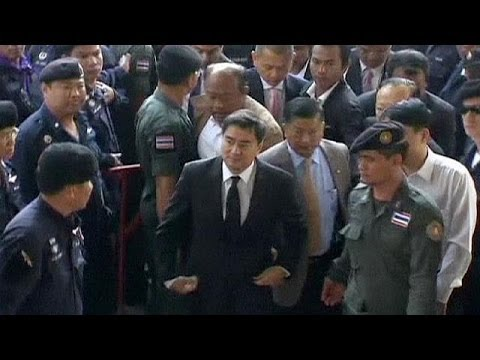 Former Thai prime minister charged with murder