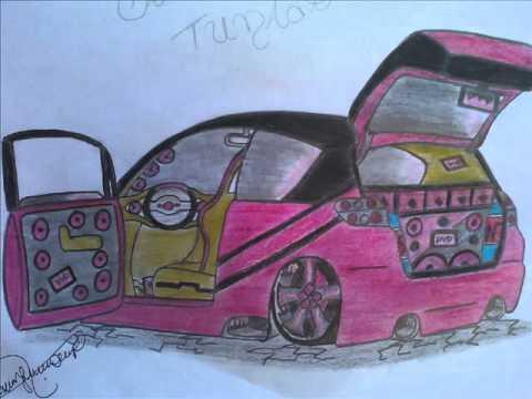 Desenhos de carros tunados da Nannýý Parte 2°