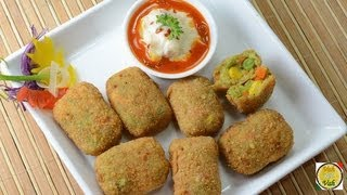 Crunchy Vegetable Nuggets ..
