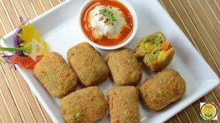 Crunchy Vegetable Nuggets ..