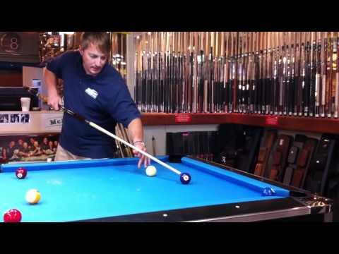 How-to do a Masse' Shot  (aka: Curved Shot)