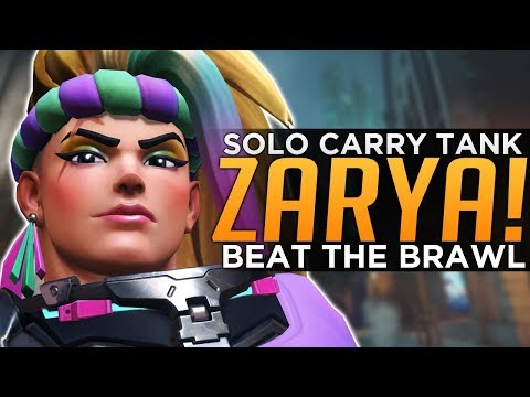 Overwatch: Solo Carry TANK! - Zarya Advanced Guide