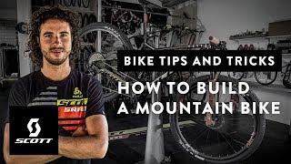 Bikers Rio Pardo | Vídeos | Mecânico de Nino Schurter mostra em detalhes como montar uma MTB na série Show da Scott