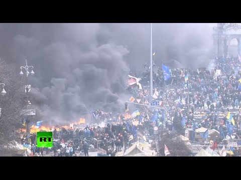 Death toll rising in Kiev's spiral of violence, protesters capture cops