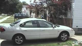 2003 Ford Taurus SES Tour And Start Up, July 5, 2009