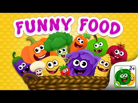 Funny Food Games for Toddlers! (EN OLD) / English Games
