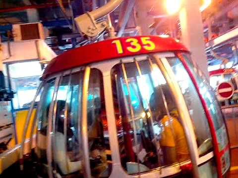 cable car - part 1 in Ocean Park, Hong Kong