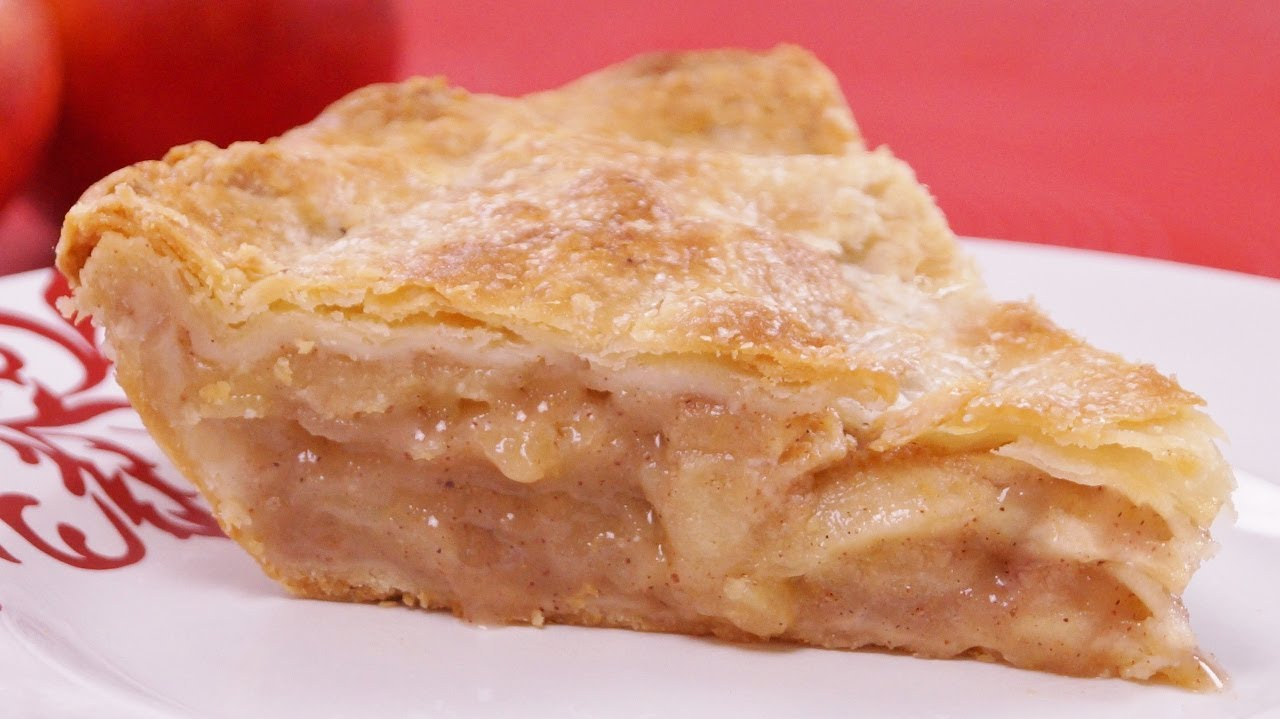 Apple Pie Recipe: From Scratch: How To Make Homemade Apple Pie! Dishin ...