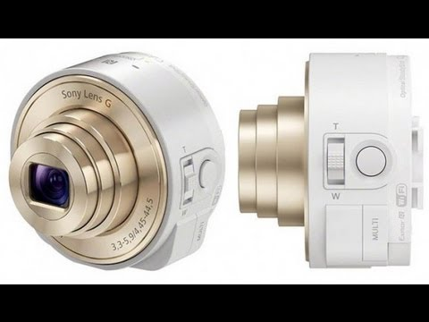 Sony QX100 and QX10 attachable Lenses for Xperia, Android & iPhone - Official Commercial / TV Spot