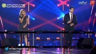 مواجهة عايدة محمد و وائل المعلم برنامج احلى صوت 2