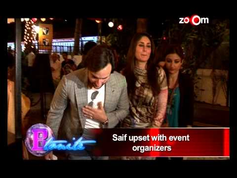 Saif Ali Khan gets Angry with Hrithik Roshan