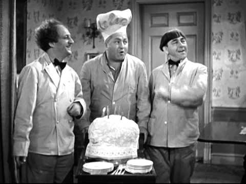 Stooges Birthday Cake Song