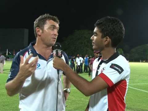 Sri Lanka vs Philippines - Post Match interviews with Sri Lanka Captain & Philippines