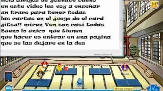 Club Penguin Truco Como Tener Todas Las Cartas Del Card Jitsu