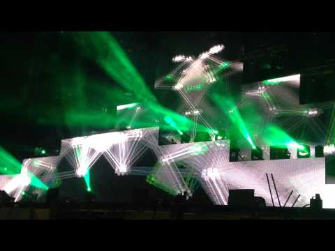Calvin Harris - Bad / Latch / Thinking About You || Lollapalooza Argentina 2015