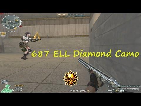 [ Bình luận CF ] Đặt bom 687 ELL Diamond Camo - Quang Brave ☆