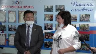 Спонсор из Уссурийска передал в дар обществу инвалидов спортивный инвентарь
