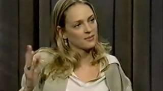 Uma Thurman on the Late Show (1994)