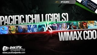 [PCGPH July B] Pacific.Ichill (Girls) vs Wimax|CDO view on youtube.com tube online.