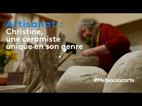 Artisanat : Christine, une céramiste unique en son genre