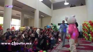 المديرية العامة للأمن الوطني تشاطر الأيتام فرحتهم بالعيد   خارج البلاطو